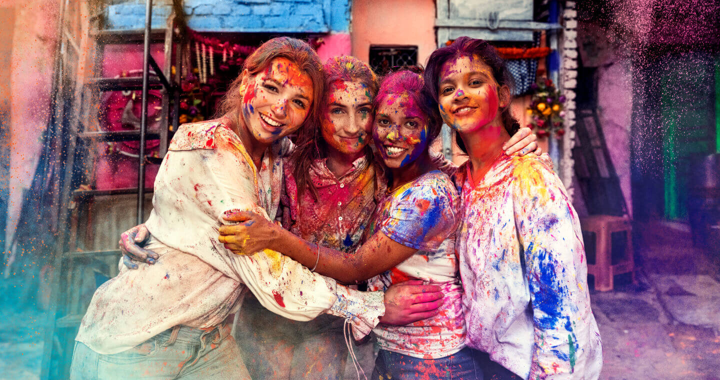THE RITUAL OF HOLI